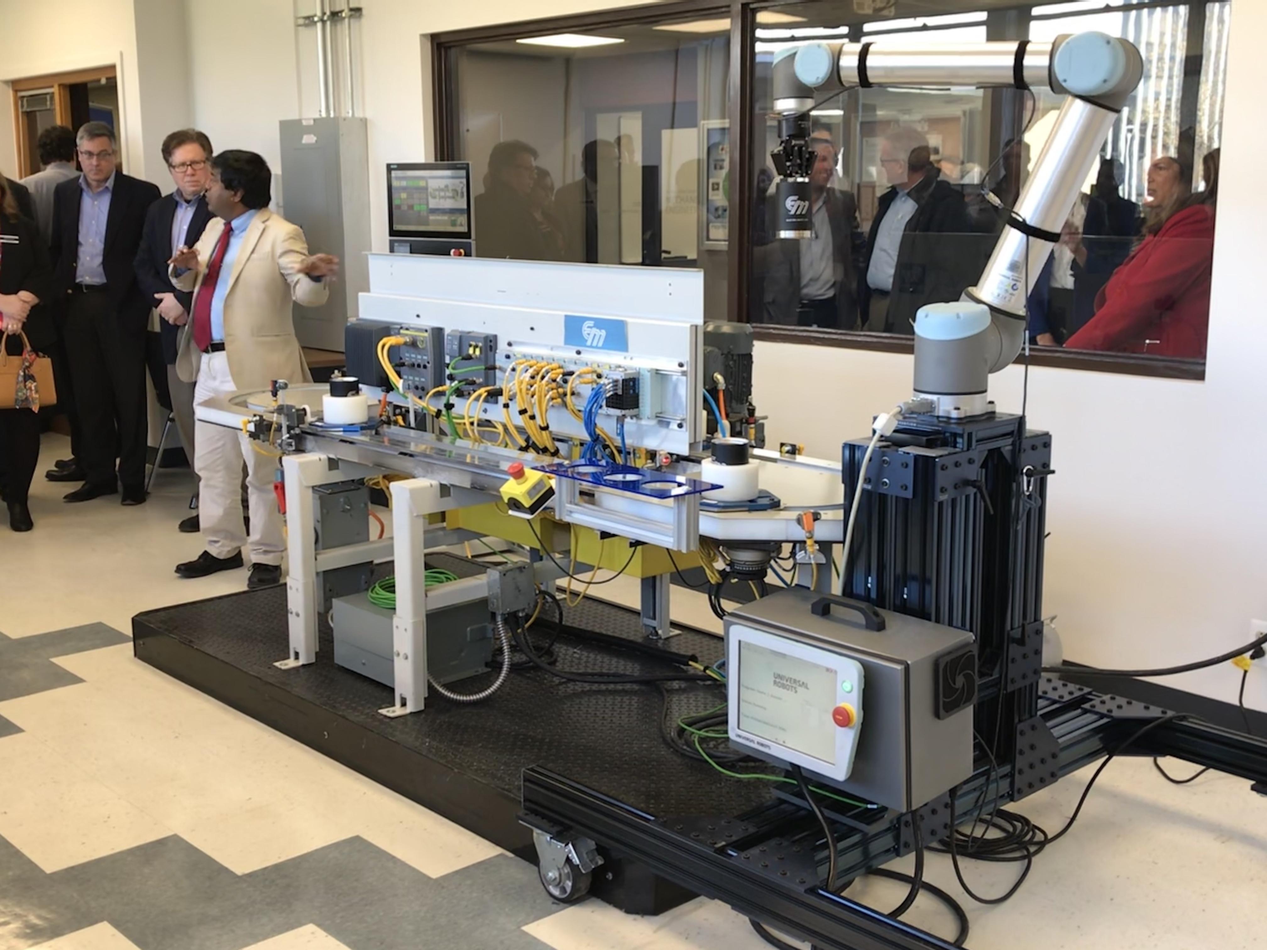 Siemens Electro-Matic Industrial Engineering Lab Opens on LTU Campus